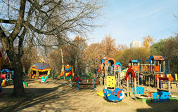 Childrens playground Royalty Free Stock Images