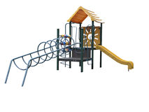 Childrens Playground Equipment Stock Images