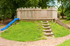 Childrens Playground Fort Stock Photos