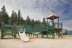 Childrens Playground at Lake Merwin Park Stock Photos