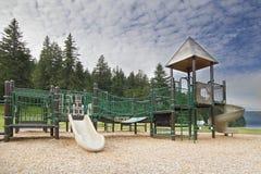 Childrens Playground at Lake Merwin Park Stock Photos