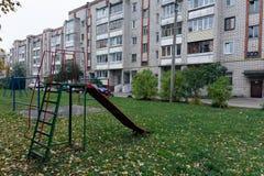 Childrens playground stock photos