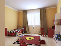 Childrens room in a modern style Stock Photos