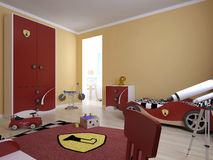 Childrens room in a modern style Stock Photography
