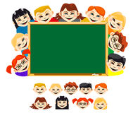 Childrens in school Stock Photography
