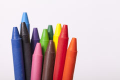 Childrens school supplies Royalty Free Stock Image