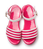 Childrens shoes Stock Image