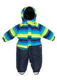 Childrens snowsuit Coat Royalty Free Stock Photo