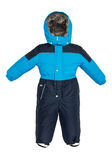 Childrens snowsuit Coat Royalty Free Stock Photos