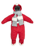 Childrens snowsuit fall Stock Photo