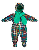 Childrens snowsuit fall Stock Image