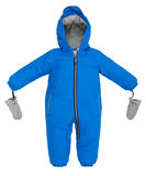 Childrens snowsuit fall Royalty Free Stock Image