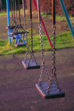 Childrens swings royalty free stock image