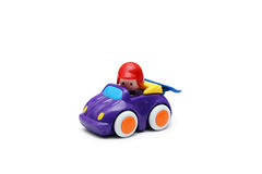 Childrens toy car Royalty Free Stock Images