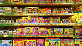 Childrens toy store Stock Photography