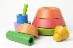Wooden Stacking Toy Stock Photos