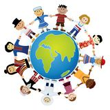 Childrens Of The World Royalty Free Stock Image