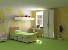 Childroom modern interior Stock Photo