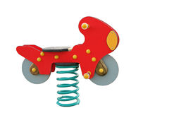 Childs操场玩具 免版税库存图片