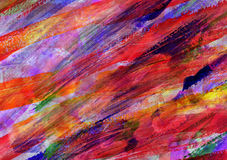 Childs abstract art painting Stock Images