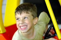 Childs Ausdruck stockbild