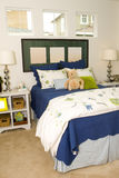 Childs bedroom. Interior of a childs bedroom royalty free stock photos