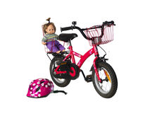 Childs bicycle Stock Photos