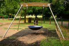 Childs deep seat swing Royalty Free Stock Photo