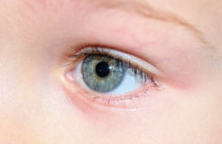 Childs eye. Stock Photography