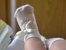 Childs feet Royalty Free Stock Photos