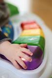 Childs hand Stock Photo