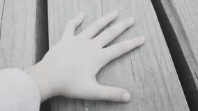 Childs Hand Stockbild