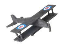 Childs homemade toy plane Stock Photo