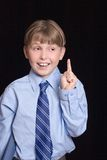 Childs Idea or Solution Stock Images
