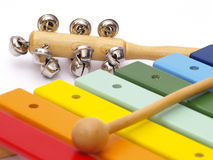 Childs instruments Royalty Free Stock Photo
