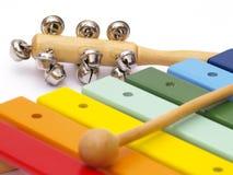 childs instrumenty Zdjęcie Royalty Free