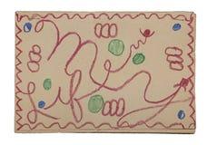 Childs Mój życie Książkowa pokrywa stapled ilustracja wektor