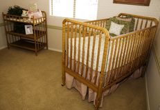 Childs Nursery Stock Image