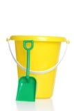 childs pail łopata zdjęcie stock