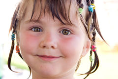 Childs portrait Royalty Free Stock Images