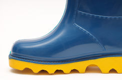 Childs rain boots Stock Photo