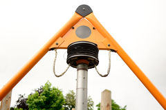 Childs swing mechanism Royalty Free Stock Photography