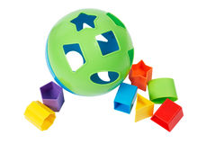 Childs Shape Sorter Toy Royalty Free Stock Images