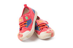 Childs shoes Stock Images