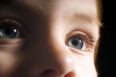 Childs sight Stock Photo