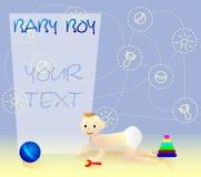 Childs Spiel Hundekopf mit einem netten glücklichen und unverschämten Lächeln getrennt auf einem weißen Hintergrund stock abbildung