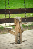 Childs Swing with a Hobby Horse Stock Image