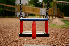 Childs swing seat Stock Photo
