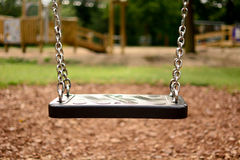 Childs swing seat Stock Images