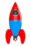 Childs Toy Rocket. 3d Rendering Royalty Free Stock Photography